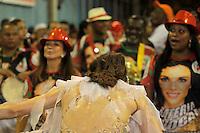 RIO DE JANEIRO,22 DE  JANEIRO DE 2012 -  ENSAIO T&Eacute;CNICO DA ACAD&Ecirc;MICOS GRANDE  RIO  - Ensaio t&eacute;cnico na  capital fluminense , Rio de Janeiro.<br /> Na foto: Ana  Furtado  madrinha de  bateria  da Grande Rio <br /> Local : Samb&oacute;dramo <br /> Foto : Guto Maia / News Free