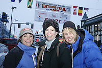Saturday March 6 , 2010     2011 Iditarod Teacher on the Trail finalists during the ceremonial start of the 2010 Iditarod in Anchorage , Alaska