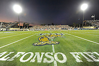 17 September 2011:  FIU's stadium at halftime.  FIU notched a new attendance record of 20,205 at the game as the FIU Golden Panthers defeated the University of Central Florida Golden Knights, 17-10, at FIU Stadium in Miami, Florida.