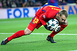 UEFA Champions League 2017/2018 - Matchday 6.<br /> FC Barcelona vs Sporting Clube de Portugal: 2-0.<br /> Jasper Cillessen.