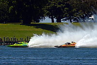 "Mathew Daoust, GP-9 and Marty Wolfe, GP-93 ""Renegade""  (Grand Prix Hydroplane(s)"
