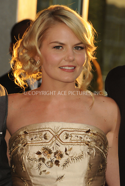 WWW.ACEPIXS.COM . . . . .  ....September 6 2011, LA....Actress Jennifer Morrison arriving at the premiere of 'Warrior' at the Arclight Hollywood on September 6, 2011 in Hollywood, California.....Please byline: PETER WEST - ACE PICTURES.... *** ***..Ace Pictures, Inc:  ..Philip Vaughan (212) 243-8787 or (646) 679 0430..e-mail: info@acepixs.com..web: http://www.acepixs.com
