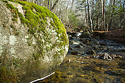 Talford Brook near Tripoli Road in Thornton, New Hampshire USA during the spring months.