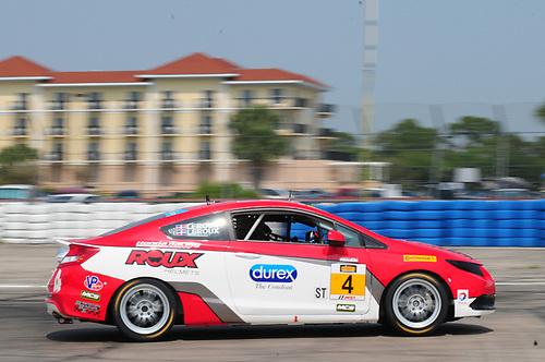 19 March, 2015, Sebring, Florida, USA<br /> #4 Juan Carlos Leroux, Jorge Leroux, Honda Civic Si<br /> © 2015, Mark Weber, ESCP
