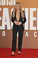 Tallia Storm at the &quot;Jack Reacher: Never Go Back&quot; European film premiere, Cineworld Empire Leicester Square cinema, Leicester Square, London, England, UK, on Thursday 20 October 2016. <br /> CAP/CAN<br /> &copy;CAN/Capital Pictures /MediaPunch ***NORTH AND SOUTH AMERICAS ONLY***