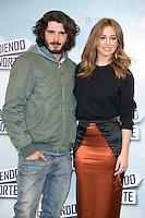 """Yon Gonzalez and Blanca Suarez attend the """"Perdiendo El Norte"""" Movie Presentation at Intercontinental Hotel, Madrid,  Spain. March 03, 2015.(ALTERPHOTOS/)Carlos Dafonte) /NORTEphoto.com"""