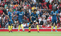 West Ham United's Felipe Anderson warms up prior to kick off<br /> <br /> Photographer Rob Newell/CameraSport<br /> <br /> The Premier League - Arsenal v West Ham United - Saturday August 25th 2018 - The Emirates - London<br /> <br /> World Copyright © 2018 CameraSport. All rights reserved. 43 Linden Ave. Countesthorpe. Leicester. England. LE8 5PG - Tel: +44 (0) 116 277 4147 - admin@camerasport.com - www.camerasport.com