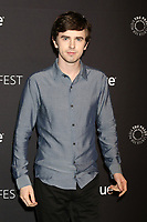 "LOS ANGELES - MAR 22:  Freddie Highmore at the 2018 PaleyFest Los Angeles - ""The Good Doctor"" at Dolby Theater on March 22, 2018 in Los Angeles, CA"