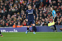 Aaron Cresswell of West Ham United during Arsenal vs West Ham United, Premier League Football at the Emirates Stadium on 7th March 2020
