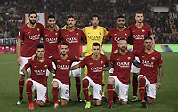 Football, Serie A: AS Roma - Parma, Olympic stadium, Rome, May 26, 2019. <br /> Roma's players pose for the pre match photograph prior to the Italian Serie A football match between Roma and Parma at Olympic stadium in Rome, on May 26, 2019.<br /> UPDATE IMAGES PRESS/Isabella Bonotto