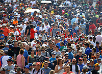 May 28, 2017; Indianapolis, IN, USA; Overall view of crowds of IndyCar Series fans in the infield during the 101st Running of the Indianapolis 500 at Indianapolis Motor Speedway. Mandatory Credit: Mark J. Rebilas-USA TODAY Sports