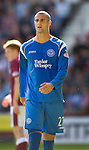St Johnstone FC..Season 2010-11.Marcus Haber.Picture by Graeme Hart..Copyright Perthshire Picture Agency.Tel: 01738 623350  Mobile: 07990 594431