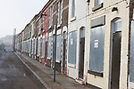 Venice Street, Liverpool, one of the streets which has been earmarked for regeneration by the Anfield and Breckfield Housing & Physical Regeneration Group, but which is now in doubt due to funding being cut. Photo by Colin McPherson.