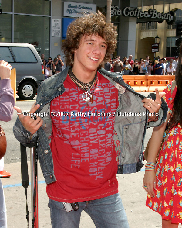 "Matthew Underwood.""Nancy Drew"" Premiere.Grauman's Chinese Theater.Los Angeles, CA.June 9, 2007.©2007 Kathy Hutchins / Hutchins Photo...."
