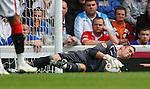 Allan McGregor commands the Rangers goal