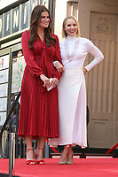 LOS ANGELES - OCT 19:  Idina Menzel, Kristen Bell at the Idina Menzel and Kristen Bell Star Ceremony on the Hollywood Walk of Fame on October 19, 2019 in Los Angeles, CA