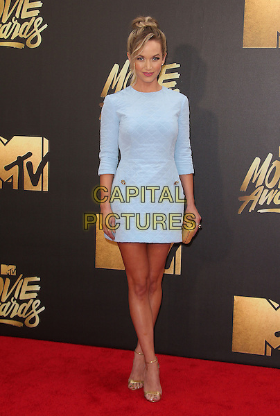 09 April 2016 - Burbank, California - Kelley Jakle. 2016 MTV Movie Awards held at Warner Bros. Studios. <br /> CAP/ADM/SAM<br /> &copy;SAM/ADM/Capital Pictures