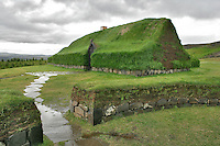 Historical Reconstruction of an Icelandic Turf Farm, Iceland