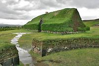 Historical Reconstruction of an Icelandic Turf Farm, Iceland
