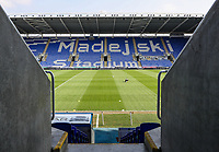 A general view of the Madejski stadium <br /> <br /> Photographer Andrew Kearns/CameraSport<br /> <br /> The EFL Sky Bet Championship - Reading v Preston North End - Saturday 30th March 2019 - Madejski Stadium - Reading<br /> <br /> World Copyright © 2019 CameraSport. All rights reserved. 43 Linden Ave. Countesthorpe. Leicester. England. LE8 5PG - Tel: +44 (0) 116 277 4147 - admin@camerasport.com - www.camerasport.com