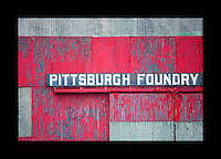 Industrial textures and abstracts - Pittsburgh Foundry