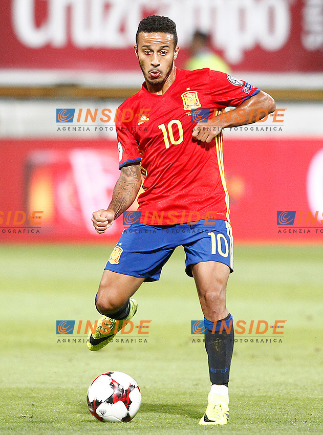 Spain's Thiago Alcantara during FIFA World Cup 2018 Qualifying Round match. September 5,2016.(ALTERPHOTOS/Acero)<br /> Spagna - Liechtenstein <br /> Foto Insidefoto <br /> ITALY ONLY