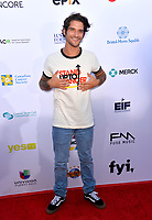SANTA MONICA, CA. September 07, 2018: Tyler Posey at the 2018 Stand Up To Cancer fundraiser at Barker Hangar, Santa Monica Airport.