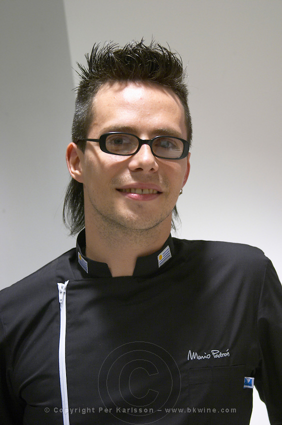 Mario Padron chef, specialised in design cooking. Catad'Or of Uruguay, Montevideo, Uruguay, South America