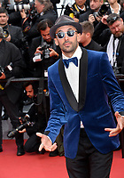 "CANNES, FRANCE. May 15, 2019: JR at the gala premiere for ""Les Miserables"" at the Festival de Cannes.<br /> Picture: Paul Smith / Featureflash"