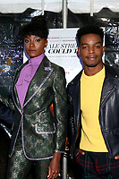"LOS ANGELES - DEC 4:  Kiki Layne, Stephan James at the ""If Beale Street Could Talk"" Screening at the ArcLight Hollywood on December 4, 2018 in Los Angeles, CA"