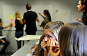 02/10/12 - CLERMONT FERRAND - PUY DE DOME - FRANCE - Illustration. Shooting etudiants a l Ecole Superieure de Commerce de Clermont Ferrand - Photo Jerome CHABANNE/Reservoir Photo
