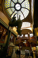 Czeck Republic, Prague, The Art Noveau Lucerna Passage in Nove Mesto