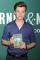Chris Colfer promotes his children's novel - New York