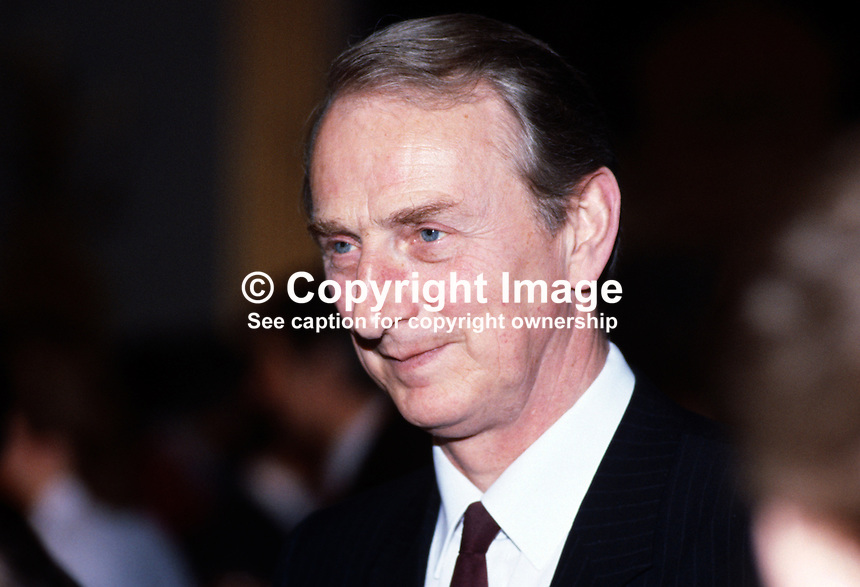 John Parkes, permanent secretary, Dept of Education, N Ireland, UK, 1985010010JP..Copyright Image from Victor Patterson, 54 Dorchester Park, Belfast, UK, BT9 6RJ..Tel: +44 28 9066 1296.Mob: +44 7802 353836.Voicemail +44 20 8816 7153.Skype: victorpattersonbelfast.Email: victorpatterson@mac.com.Email: victorpatterson@ireland.com (back-up)..IMPORTANT: If you wish to use this image or any other of my images please go to www.victorpatterson.com and click on the Terms & Conditions. Then contact me by email or phone with the reference number(s) of the image(s) concerned.