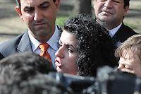 SAO PAULO, SP, 15 DE FEVEREIRO 2012 - JULGAMENTO LINDEMBERG ALVES - CASO ELOA - Lindemberg Alves, de 25 anos, chega ao Fórum de Santo André, no Grande ABC paulista, onde pode prestar depoimento, no terceiro e provável último dia do júri do caso Eloá. Ele é acusado pela morte da ex- namorada Eloá Cristina Pimentel, de 15 anos, em um conjunto habitacional de Santo André, em outubro de 2008. (FOTO: ADRIANO LIMA - BRAZIL PHOTO PRESS).