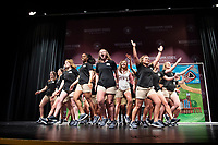 Orientation Leaders perform 2018 Orientation season skit in Bettersworth Auditorium.<br />  (photo by Megan Bean / &copy; Mississippi State University)