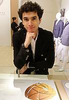NAPOLI 21/03/2013 MUSEO PLART CERIMONIA DI PREMIAZIONE DELLA .VIII EDIZIONE DEL LUCKY STRIKE TALENTED DESIGNER AWARD ORGANIZZATO DALLA RAYMOND LOEWY  FOUNDATION.NELLA FOTO Nicolò Bouzin