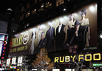Times Square Billboard for Larry Hagman starring in the TNT production of 'Dallas' in New York City on December 8, 2012.