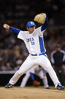 Jae-Weong Seo of Korea during the World Baseball Championships at Petco Park in San Diego,California on March 15, 2006. Photo by Larry Goren/Four Seam Images