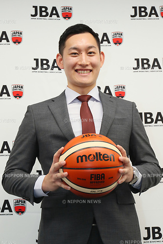 Takaki Kato, <br /> SEPTEMBER 25, 2017 - Basketball : <br /> Japan Basketball Association Press Conference <br /> JBA Certified Professional Referee was born. <br /> in Tokyo, Japan. <br /> (Photo by YUTAKA/AFLO SPORT)