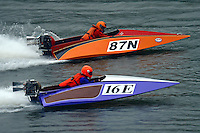 16-E and 87-N  (Outboard Runabout)