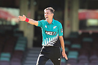13th March 2020, Sydney Cricket Ground, Sydney, Australia;  Trent Boult of the Blackcaps appeals. International One Day Cricket. Australia versus New Zealand Blackcaps, Chappell–Hadlee Trophy, Game 1.