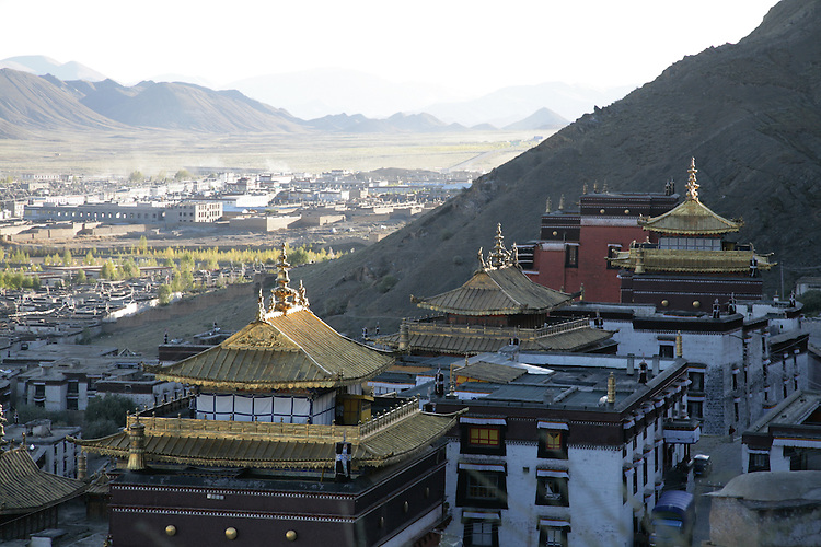 Tashunpo Monestary in Tibet's second city, Shgatse, is the seat of the Penchen Lama.