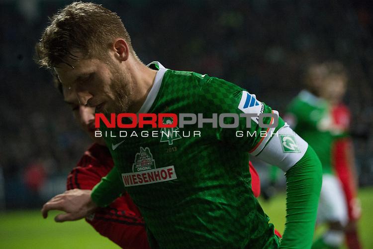 21.12.2013, Weser Stadion, Bremen, GER, 1.FBL, Werder Bremen vs Bayer Leverkusen, im Bild<br /> <br /> Aaron Hunt (Bremen #14)<br /> <br /> Foto &copy; nordphoto / Kokenge