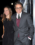 Robert Downey Jr. and Susan Downey attends The Warner Bros. Pictures Premiere of Unknown held at The Regency Village Theatre in Westwood, California on February 16,2011                                                                               © 2010 DVS / Hollywood Press Agency