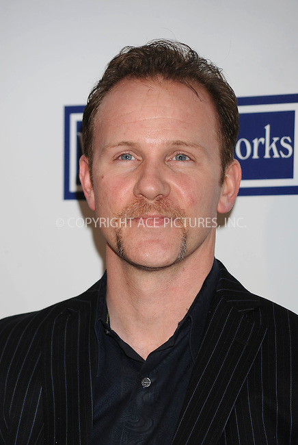 WWW.ACEPIXS.COM . . . . . ....April 22 2009, New York City....Filmmaker Morgan Spurlock arriving at the premiere of 'Whatever Works' during the 2009 Tribeca Film Festival at Ziegfeld on April 22, 2009 in New York City.....Please byline: KRISTIN CALLAHAN - ACEPIXS.COM.. . . . . . ..Ace Pictures, Inc:  ..tel: (212) 243 8787 or (646) 769 0430..e-mail: info@acepixs.com..web: http://www.acepixs.com