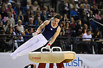 .Brinn Bevan, British Senior Gymnastics Championships 2016. Liverpool Echo Arena.