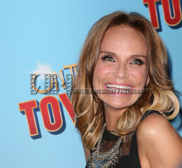 Kristin Chenoweth attends the Broadway Opening Night Performance of 'On The Town'  at the Lyric Theatre on October 16, 2014 in New York City.