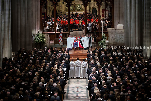 Former president George Herbert Walker Bush memorial ceremony at the National Cathedral in Washington, Wednesday,  Dec.. 5, 2018.  <br /> Credit: Doug Mills / Pool via CNP