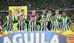 Atlético Nacional venció como local 2-1 a Atlético Junior. Partido de ida final Copa Águila 2016.
